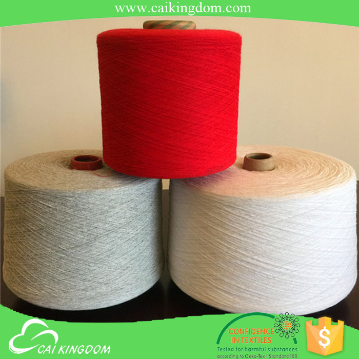 Leading manufacturer grade B recycle cotton yarn/cotton stretch twill fabric