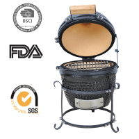 Vertical Mini Rotary BBQ Smoker Grill