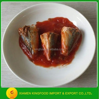 canned mackerel in tomato sauce with chili pepper