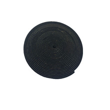 epdm compressible foam sealing corrugated foam rubber seal