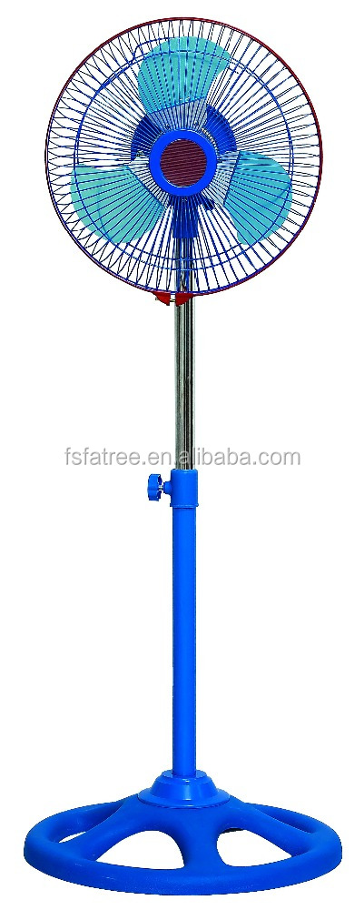 South America 110V stand fan 10inch 2 in 1 fan CE