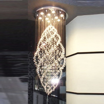 modern led chandelier big crystal hotel lighting Model : DY104