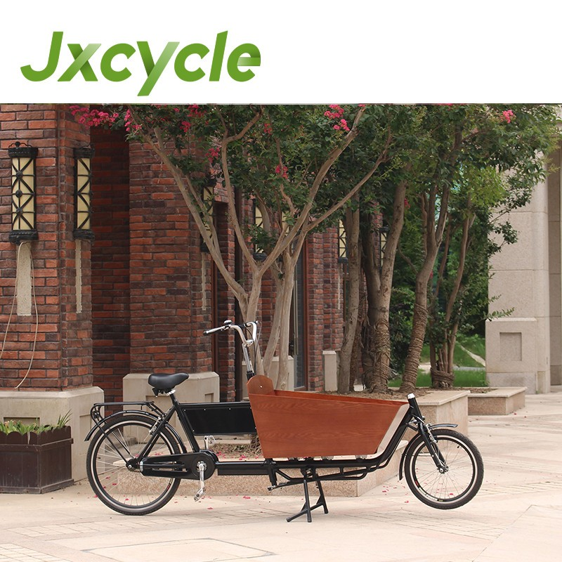 Aluminum Two wheels cargo trike Family Cycling