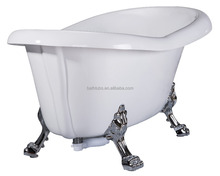 cUPC certified antique clawfoot bathtub, antique tin bathtub tub, plastic bathtub adults