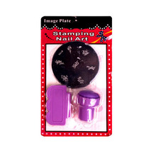 Nail art portable printing stamper and scraper kit/nail stamp set #3322