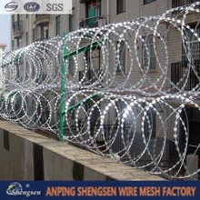 welded barbed wire roll price fence