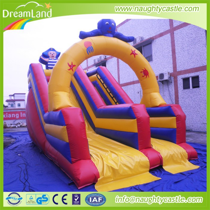 Outdoor and indoor Amusement park inflatable slides for toddler