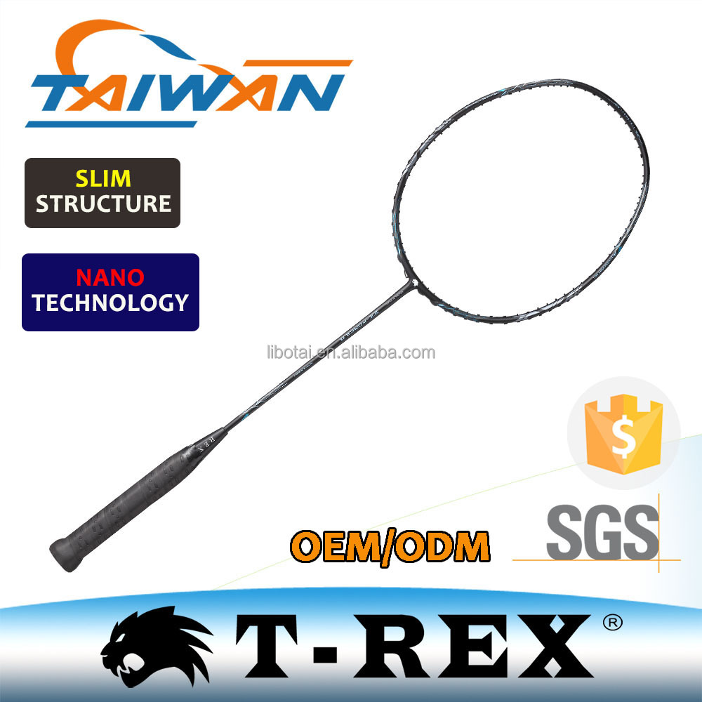 TREX OEM full carbon light weight professional badminton racket