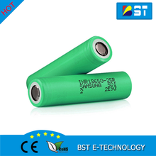 Alibaba Wholesale original LG HG2 green Samsung 25r 18650 samsung inr18650-25r 2500mAh battery