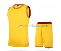 Customed new design summer men basketball training clothes Polo shirt suit