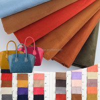 faux suede fabric suede leather suede fabric for handbags bags sofa cover women fashion garment fabric