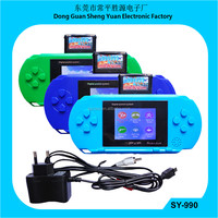 PVP Game console SY-990 with 2.4'' TFT color screen pvp game cartridge pocket game pvp station