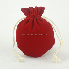 High Grade Colorful Velvet Silk Fabric Jewelry Pouch/Jewelry Satin Pouch Bags for Wholesale