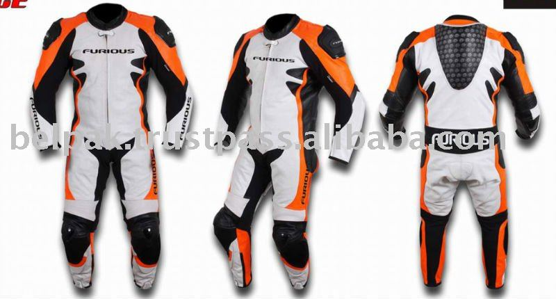 GP-RACE motorcycle leather suit