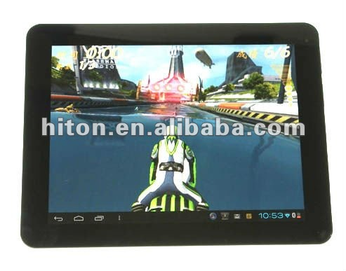 "9.7"" NVIDIA Tegra 3 Quad-Core Tablet PC with Android 4.1 Jelly Bean OS NVIDIA Tegra 3 Quad-Core"