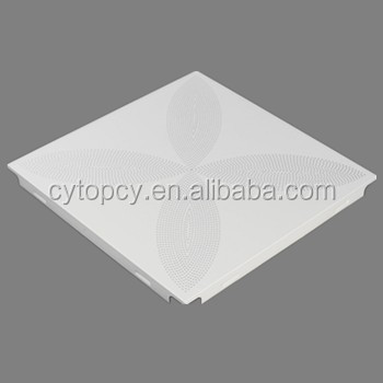 Waterproof decorative roof false metal ceiling design easy to installation aluminum panel
