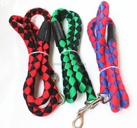 Solid nylon braided strong pet leash dog rope traction belt for medium and large dogs
