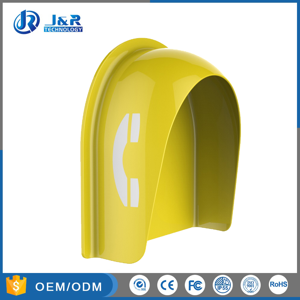 weatherproof telephone hood industrial telephone hoods 23 dB acoustic hood