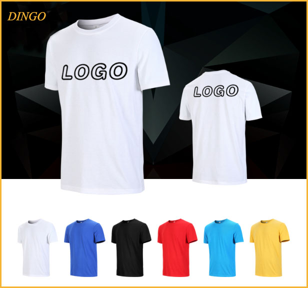 New Style Blank Wholesale Round Neck T Shirt With Custom Logo