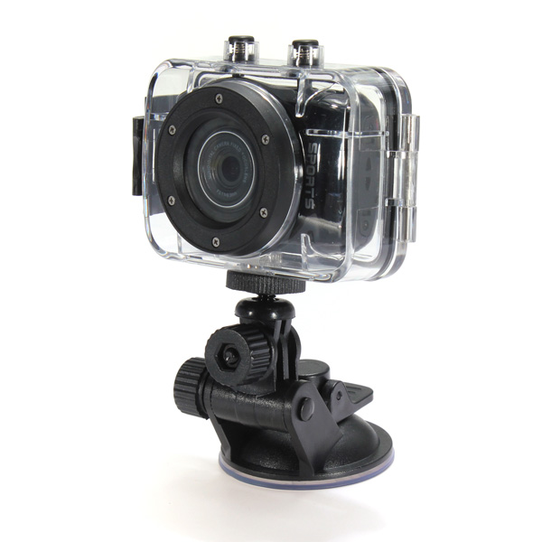 2014 Summer promotion! cheapest sport camera with touch screen LCD used and work for mini motorbike