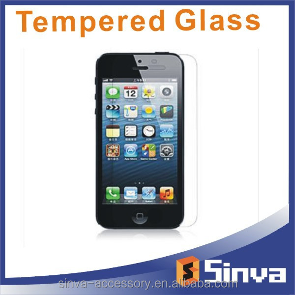 2.5D 0.33mm privacy tempered glass screen protector for iphone 6 Gold supplier on alibaba
