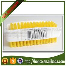 Plastic Double Sides Nail Brushes - Yellow