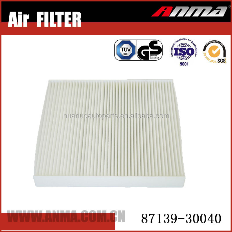 Anma auto cabin air filter 87139-30040