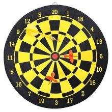 Two-sided Dart Board with 2pcs Magnetic Darts Safety Game Toy Sports DartBoard