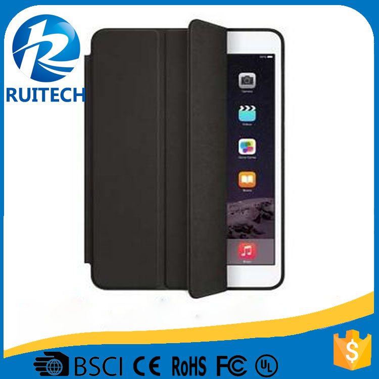 Newest Magnetic Smart Cover Leather Case for iPad Air 2 Case