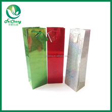 wholesale paper wine tote bag