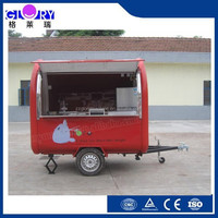 cart food/food cart for wholesale hot dog/mobile food trailer food cart cooking trailer