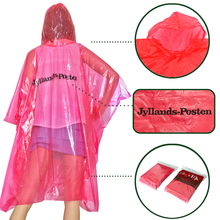 China factory designed women stylish emergency disposable poncho extra large rain poncho