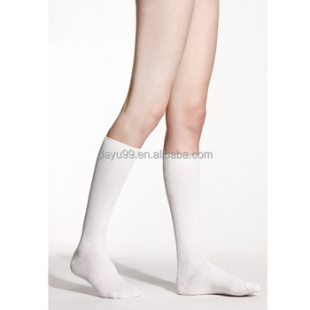 Far infrared knee high sock warm sock flight sock Made in Taiwan