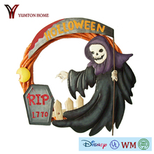 animated stuffed Halloween witch for holiday