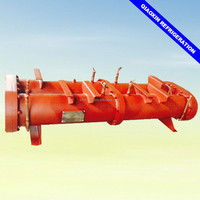 Shell and tube industrial chiller condenser refrigeration condensing unit