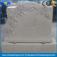 Top Design White Granite Tombstone & Monument