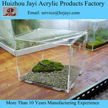 Alibaba factory manufacturer Diy Acrylic Pet Cage Clear color, herp cage, plexiglass Reptile Habitat