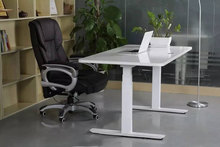 USA market Wholesale electric height adjustable desk frame with DIY desktop