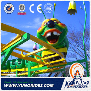 high quality amusement park items Wacky Worm coaster Rides