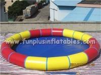 Interesting Above ground Giant Inflatable Swimming Pools for kids water games F9016