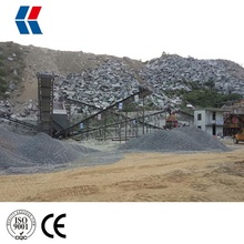Granite Gravel Crushing Plant with 20 - 400 tph Different Designs