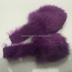 mix colored dog toy squeakers wholesale rabbit fur hair squeakers toy
