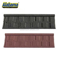 Color Aluminum-zinc state of art roofing sheet, different types of roof tiles stone coated color metal roofing tile