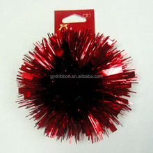2015 Gift Deluxe Fancy PET Bow for Festive Deco/2014 Fancy Metallic Solid Gloss Ribbon fancy bows with twist tie and fluff style