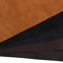wholesale faux leather fabric nubuck microfiber leather