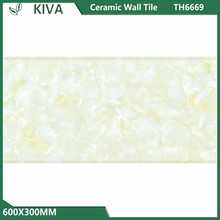 Latest design water proof floor flower tiles design vitrified ceramic wall tiles and building material