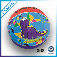 Custom Gift Cartoon Rubbr Promotional Basketball