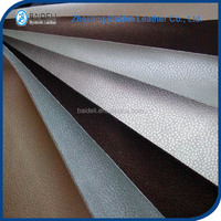cotton backing pvc upholstery leather for funiture decoration