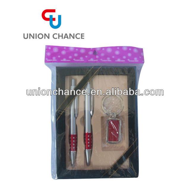 Ballpen Gift Set,Keychain with Pen Gift Set