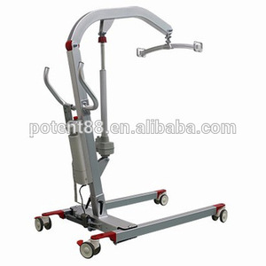 Hospital homecare foldable hoist electric patient transfer lift with sling